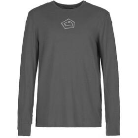 E9 Lino Langærmet T-shirt Herrer, grå
